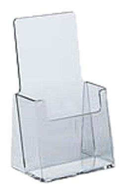 Azar 252012 Trifold Brochure Holder, 10 Pack (Plastic Holders Brochure)
