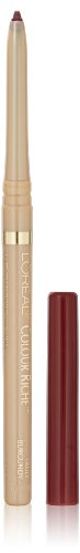 L'Oréal Paris Colour Riche Lip Liner, Truly Burgundy, 0.007 oz.