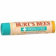 Burt's Bees Medicated Lip Balm with Menthol & Eucalyptus