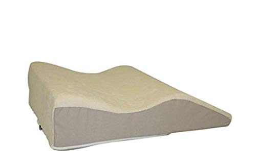 Jobri BetterRest Contoured Premium Leg Wedge - Size Large - Aids with Back and Sciatica Pain, Great For Surgical or Injury Recovery, Help Reduce Leg and Ankle Swelling  and Improves Circulation