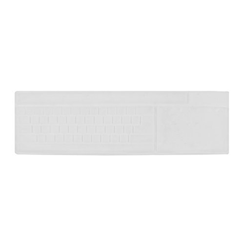 Amazon.com: Branco Silicone Universal Teclado filme protetor de 17,7 polegadas Laptop: Electronics