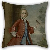 [Alphadecor Oil Painting Joseph Badger - Portrait Of John Gerry Pillow Shams ,best For Outdoor,kids Room,car,drawing Room,bedding,son 18 X 18 Inches / 45 By 45 Cm(each] (Father Son Star Wars Costumes)