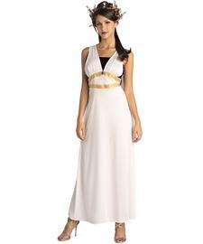 Roman Maiden Adult Costume White