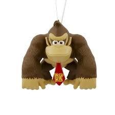 Hallmark Nintendo Donkey Kong Gaming Christmas Tree Ornament
