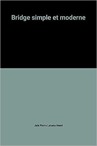 Lire un Bridge simple et moderne pdf