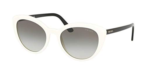 (Prada Women's Classic Cat Eye Sunglasses, White Tortoise, One Size)