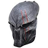 Wolf 5 Predator Mask Full Face Wire Mesh Mask for Airsoft , Bb Gun and Paint Ball ()