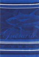 Jean Vier Tea Towel with Tuna Design