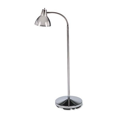 Classic Incandescent Exam Lamp, Three Prong, 74 Inch, Gooseneck, Stainless Steel by MEDLINE (Catalog Category: Furniture & Accessories / Lamps & Lighting)