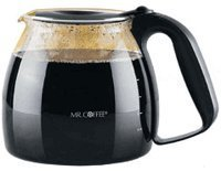 Mr. Coffee URD13 12-Cup Replacement Decanter, Black