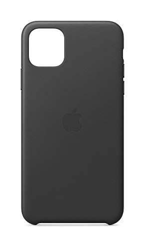 Apple Leather Case (for iPhone 11 Pro Max) - Black