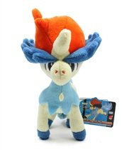 Pokemon Best Wishes Plush Doll Takaratomy - N-30 - Keldeo from Takaratomy