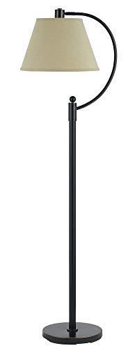 Cal Lighting BO-2449FL-DB Kinder Metal Arc Floor Lamp, 100-watt, 23