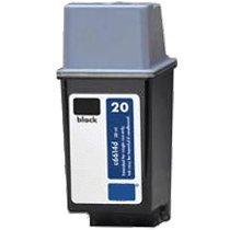 Lovetoner Compatible HP C6614A (20) INK / INKJET Cartridge Black