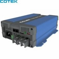 COTEK CX1235 12 VOLT 35 AMP 4 STAGE DUAL BANK AUTOMATIC BATTERY CHARGER / POWER SUPPLY