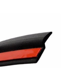 AUTOTOP 4M 13FT Z-shape Self Adhesive Automotive Window Door Rubber Seal Weather Strip Hollow Car Weatherstrip Sealing