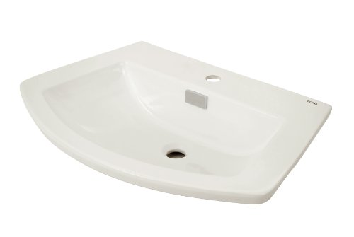 TOTO Lt963#01 Soiree Self Rimming Lavatory, Cotton ()