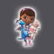 Amazon.com: Uncle Milton - Wall Friends - Doc McStuffins: Toys & Games