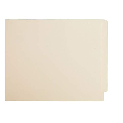 Staples 613394 Manila End-Tab File Folders Single Ply-Tab Legal 250/Box