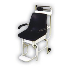 Detecto Mechanical Chair Scale Capacity: 400 lb x 4 oz