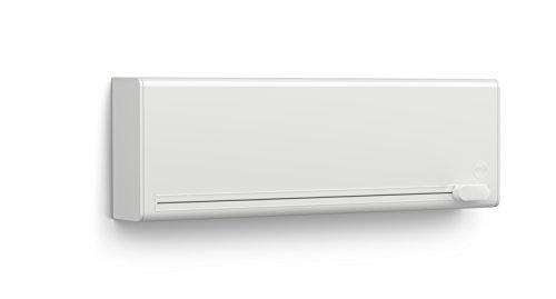 Emsa 515231 Folienschneider für 2 Folien, Wandmontage ohne Bohren, Weiß, Smart
