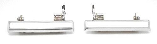 DELPA CL4218 > 2 pcs Chrome Outside Outer Exterior Door Handles Fits: 1975 Thru 1981 Camaro Firebird