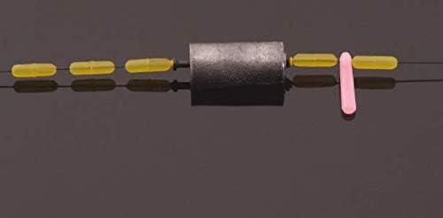 600 St/ück Gummi Angeln Bobber Stopper,6 in 1 Float Sinker Stopps,3 Gr/ö/ßen Schwarz Rot Orange Oval Zylinder Float Stop Verf/ügbar