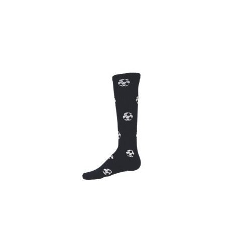 Red Lion Socks サッカーボール柄アスレチックソックス B008EMEKM0 Large|ネイビー ネイビー Large