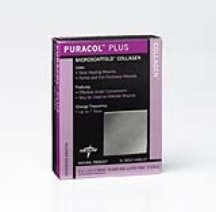 Puracol Plus Collagen Dressings 19.13S Case of 10 by Medline