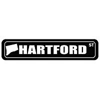 Hartford Street - US Cities - Street Sign [ Decorative Crossing Sign Wall Plaque ] (Plaque Wall Hartford)