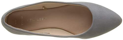 Khala Mujer 4 Punta con Wide Cerrada para Bailarinas Look Grey Grey Mid New Foot qTwfx4Otnz