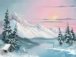 Packet Bob (Bob Ross Landscape Packet - Alaskan Winter)