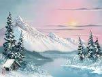 Packet Bob (Bob Ross Landscape Packet - Alaskan Winter)