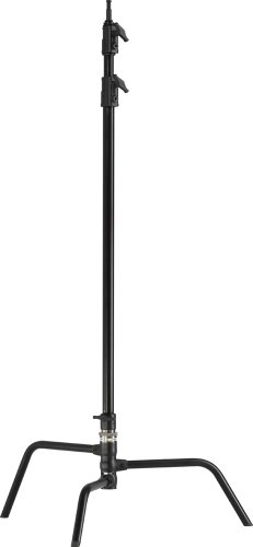 Kupo Master 40-Inch C Stand with Turtle Base - Black, KS743011