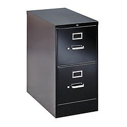 HON H322P H320 Series 26-1/2-Inch 2-Drawer Full-Suspension Letter File, Black - Hon 530 Series