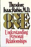 One To One by Theodore Isaac Rubin