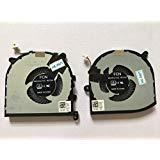 HK-part Replacement Fan for Dell XPS 15 9560 CPU+GPU cooling Fan 2 Fans Left+Right DP/N 0VJ2HC 0TK9J1