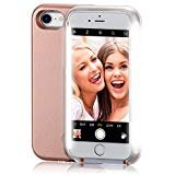 iPhone 6 Case, COSLIGHT LED Light Up Selfie Phone Case Luminous Protective Cover for Apple iPhone 6 6s (4.7