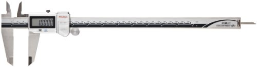 (Mitutoyo 500-764-10 Digital Calipers, Battery Powered, Inch/Metric, for Inside, Outside, Depth and Step Measurements, Stainless Steel, 0