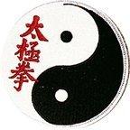 Tai Chi Chuan Yin Yang 4 Inch Patch