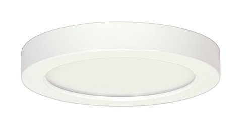 - Satco Products S9336 Blink Flush Mount LED Fixture, 18.5W/9