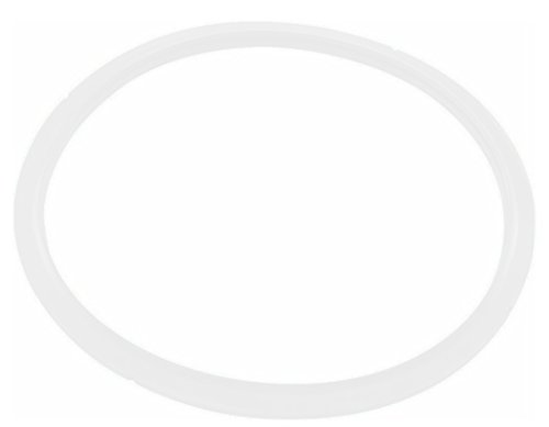 T-fal X90101 Seal Secure 5 Gasket for Stainless Steel Pressure Cooker Cookware, P25142 4-Quart  P25107 6.3-Quart and P25144 8.5-Quart, White (Stainless Pressure Quart 4 Cooker)