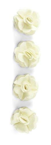 Dimensional Stickers Felt - Jolee's Boutique Dimensional Stickers, Cream Felt Rose