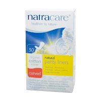 Curved Panty Liners-30 count Brand: Natracare