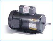 Baldor EL3504 Premium Efficient AC Motor, Single Phase, 5...