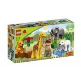 18-Piece Set Includes Animals, Zoo Keeper, And Large Building Bricks - DUPLO LEGO Ville Baby Zoo V70 (4962)