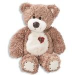 Tender Teddy Bear Tan/ Patchwork Heart/Toys by First and Main ()