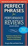 img - for Perfect Phrases for Performance Reviews book / textbook / text book