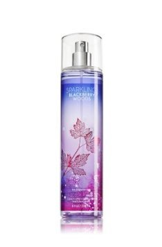 Sparkling Light Body Mist (Bath and Body Works Sparkling Blackberry Woods Fine Fragrance Mist 8 Ounce)