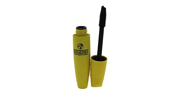 2a91a0e4386 Amazon.com : W7 Lashtastic Mascara - Blackest Black By W7 For Women - 0.503  Oz Mascara : Beauty